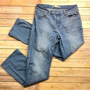 🔴3/$25 Levi's 505 Straight Leg Light Wash Jeans